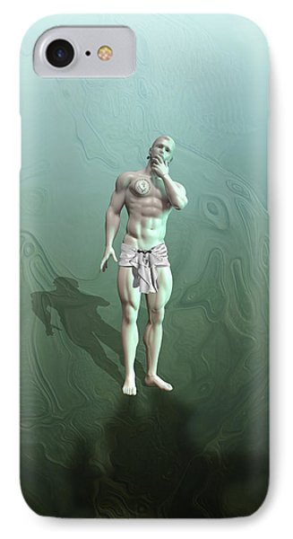 Adam Synthetic IPhone Case by Quim Abella