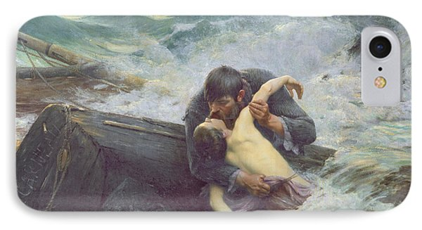 Adieu IPhone Case by Alfred Guillou