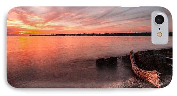 Adriatic Sunset II Phone Case by Davorin Mance