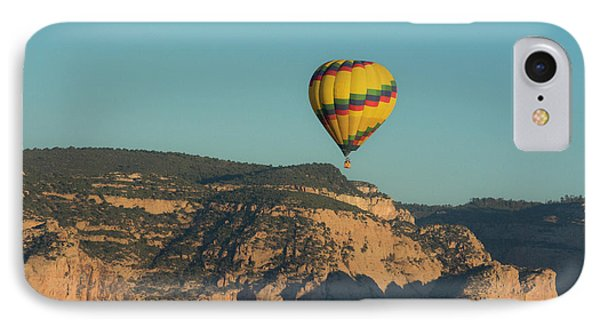 Aerial View, Red Rock Country, Sedona IPhone Case by Michel Hersen