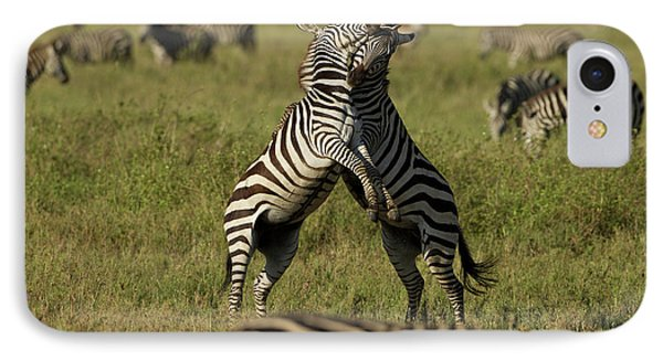 Africa, Tanzania, Serengeti National IPhone Case by Joe and Mary Ann Mcdonald