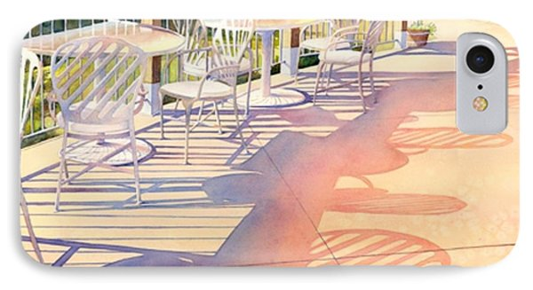 Afternoon Shadows At Les Bourgeois IPhone Case by Brenda Beck Fisher