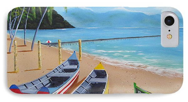 Aguadilla Crashboat Beach IPhone Case by Luis F Rodriguez