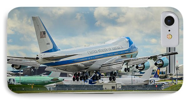 Air Force One IPhone Case by Puget  Exposure