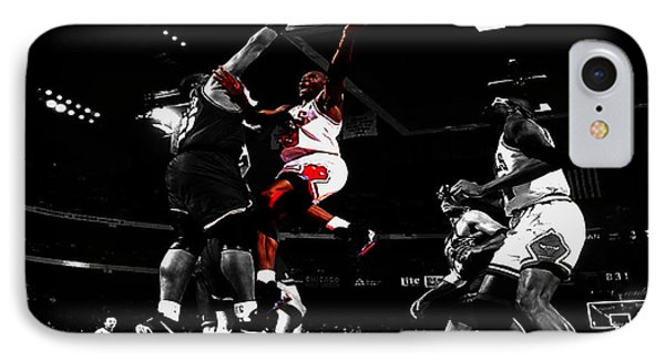 Air Jordan  IPhone Case by Brian Reaves