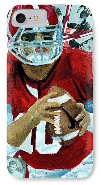 Alabama Quarter Back #10 Phone Case by Michael Lee