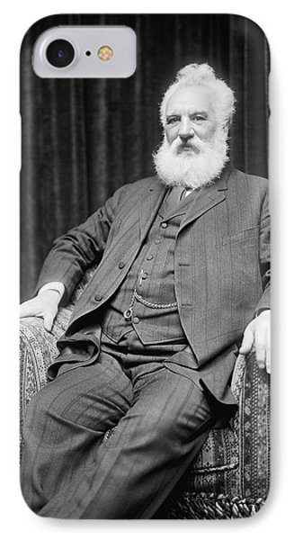 Alexander Graham Bell IPhone Case by Underwood