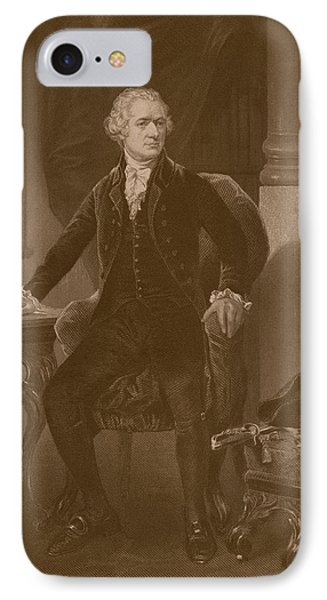 Alexander Hamilton IPhone Case by War Is Hell Store