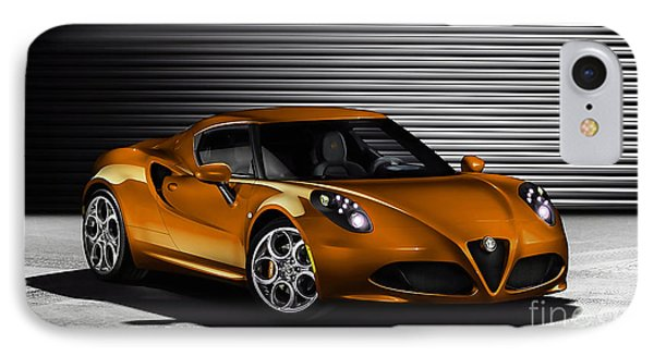 Alfa Romeo IPhone Case by Marvin Blaine