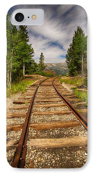 Along Boreas Pass Phone Case by Christopher L Nelson