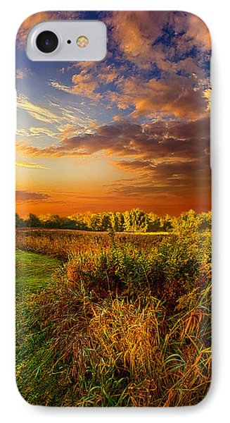 Along The Way IPhone Case by Phil Koch