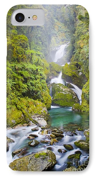 Amazing Waterfall Phone Case by Tim Hester