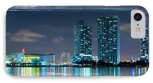 American Airlines Arena And Condominiums IPhone Case by Carsten Reisinger