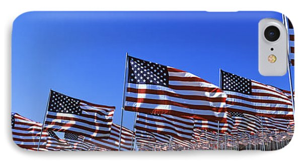 American Flags In Memory Of 911 IPhone Case