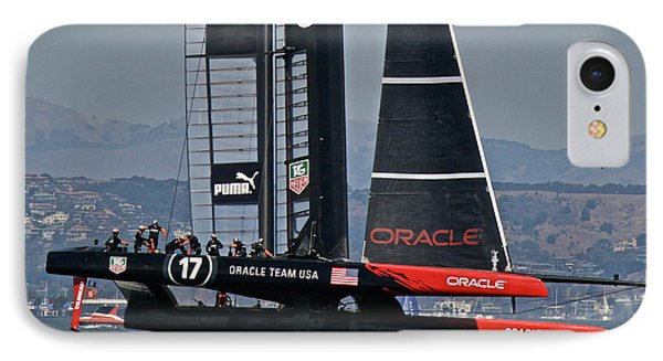 America's Cup Sf Bay IPhone Case by Steven Lapkin