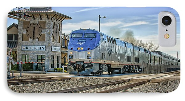 Amtrak 112 IPhone Case by Jim Thompson