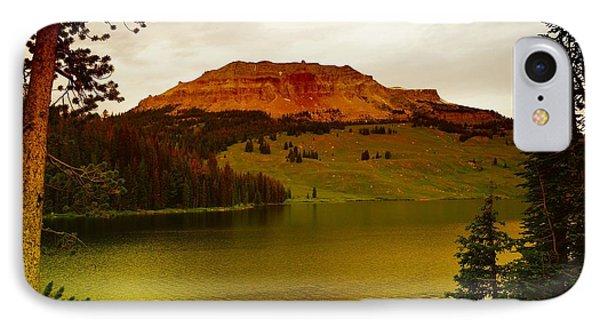 An Alpine Lake Phone Case by Jeff Swan