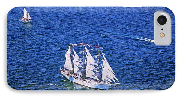 An Indonesian Ship In The Liberty 100 IPhone Case