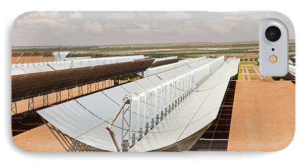 Andasol Solar Power Station IPhone Case by Ashley Cooper
