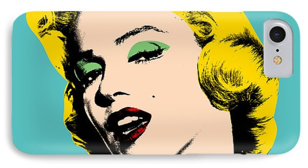 Andy Warhol IPhone 7 Case by Mark Ashkenazi