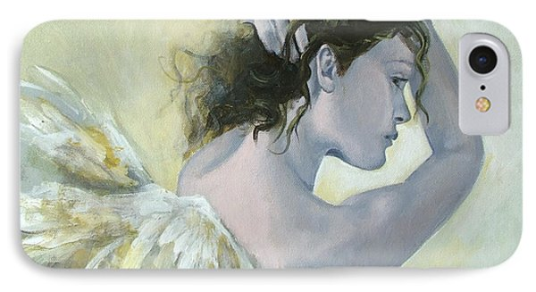 Angel    IPhone Case by Dorina  Costras