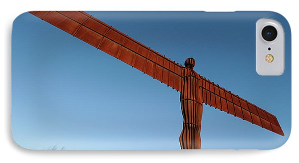 Angel Of The North IPhone Case by Public Health England