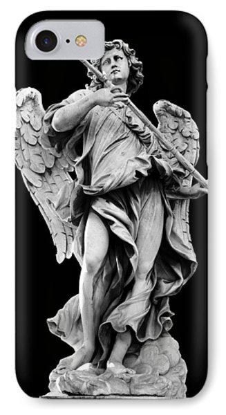 Angel With The Sponge  IPhone Case by Fabrizio Troiani