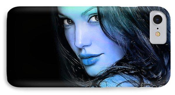 Angelina Jolie IPhone Case