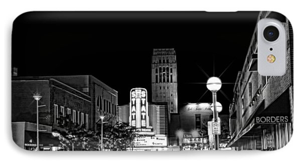 Ann Arbor Nights IPhone Case by Pat Cook
