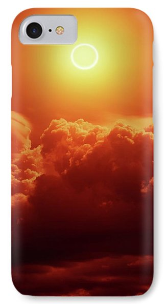 Annular Solar Eclipse IPhone Case