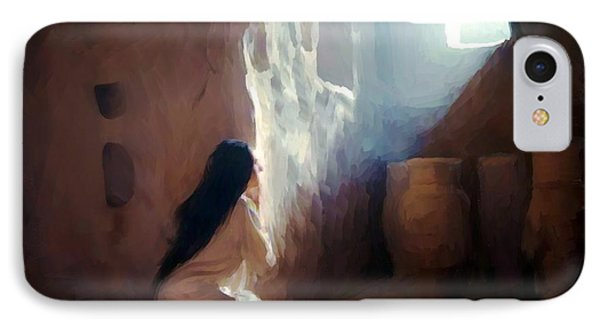 Annunciation Of Mary IPhone Case by Ric Darrell