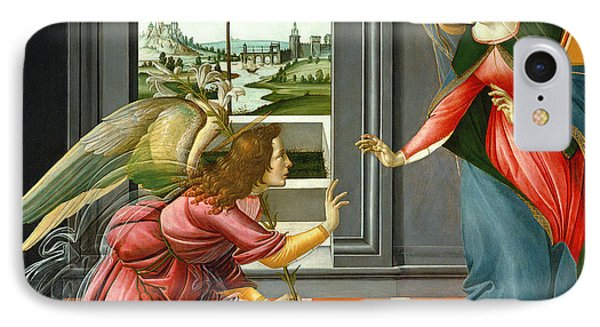 Annunciation IPhone Case by Sandro Botticelli