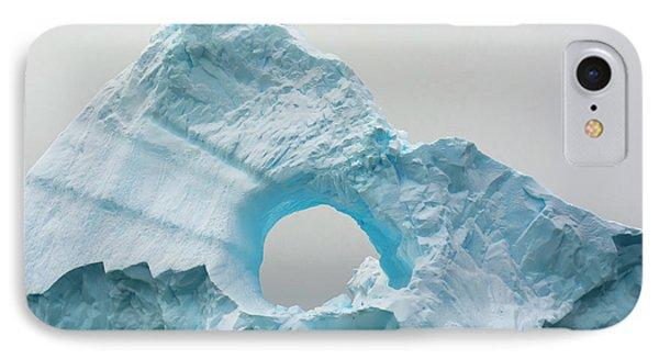 Antarctica Charlotte Bay Giant Iceberg IPhone Case by Inger Hogstrom