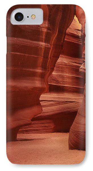 Antelope Slot Canyon IPhone Case by Andrew Soundarajan