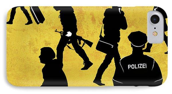Anti-terrorism Police IPhone Case by Smetek