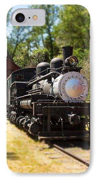 Antique Locomotive Phone Case by Jane Rix