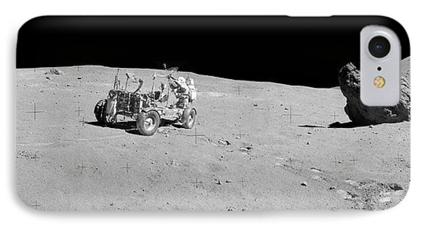 Apollo 16 Lunar Rover IPhone Case by Nasa/detlev Van Ravenswaay