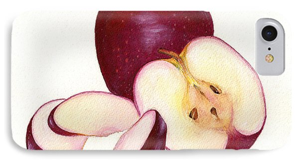 IPhone Case featuring the painting Apples To Apples by Nan Wright