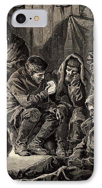 Arctic Expedition Led By John Franklin IPhone Case by Universal History Archive/uig
