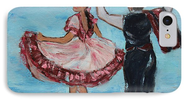 Argentinian Folk Dance IPhone Case by Xueling Zou