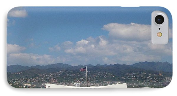 Arizona Memorial  IPhone Case by Kenneth Cole