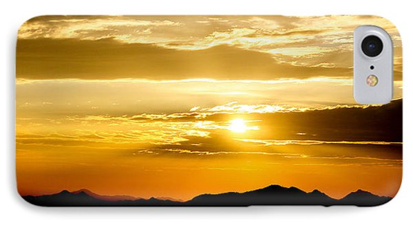 IPhone Case featuring the photograph Arizona Sunset by Elaine Malott