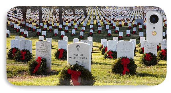 Arlington Cemetery Wreaths IPhone Case