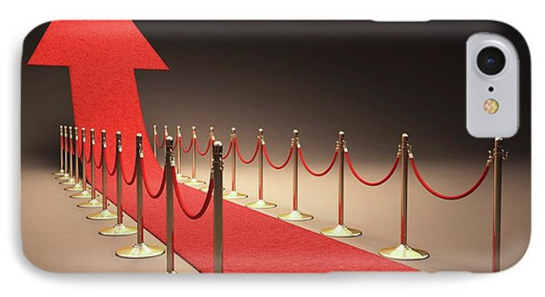Arrow And Red Carpet IPhone Case by Ktsdesign