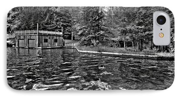 Arrowhead Park Waterway In Inlet New York Phone Case by David Patterson