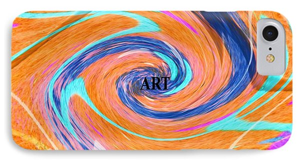 Art IPhone Case by Dan Sproul