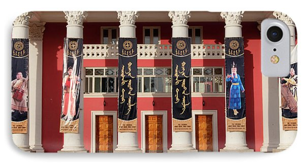 Asia, Mongolia, Ulaanbaatar, Mongolian IPhone Case by Emily Wilson