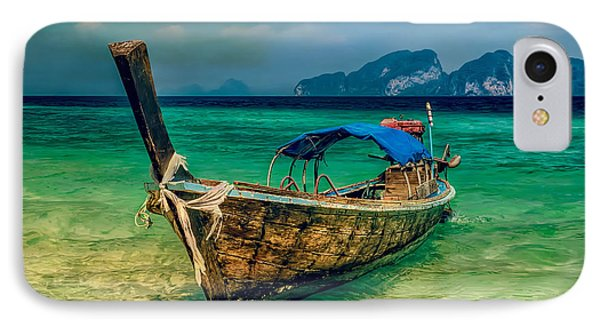 Asian Longboat IPhone Case by Adrian Evans