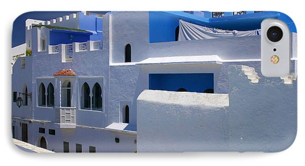 IPhone Case featuring the photograph Asilah Meaning Authentic In Arabic Fortified Town On Northwest Tip Of Atlantic Coast Of Morocco by Ralph A  Ledergerber-Photography