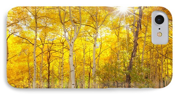 Aspen Morning IPhone Case by Darren  White